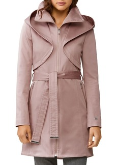 Soia & Kyo Arabella Zip-Up Hooded Rain Coat
