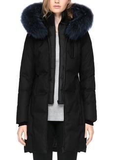 Soia & Kyo Chrissy Fox Fur Trim Parka