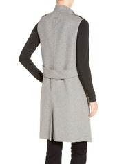 Soia & Kyo Double Face Wool Blend Vest