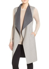 Soia & Kyo Double-Face Wool Blend Vest