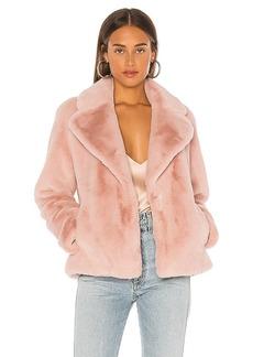 Soia & Kyo Emanuela Faux Fur Jacket