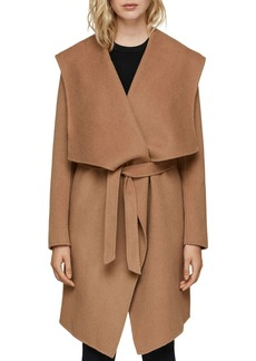 Soia & Kyo Exaggerated Shawl Collar Coat