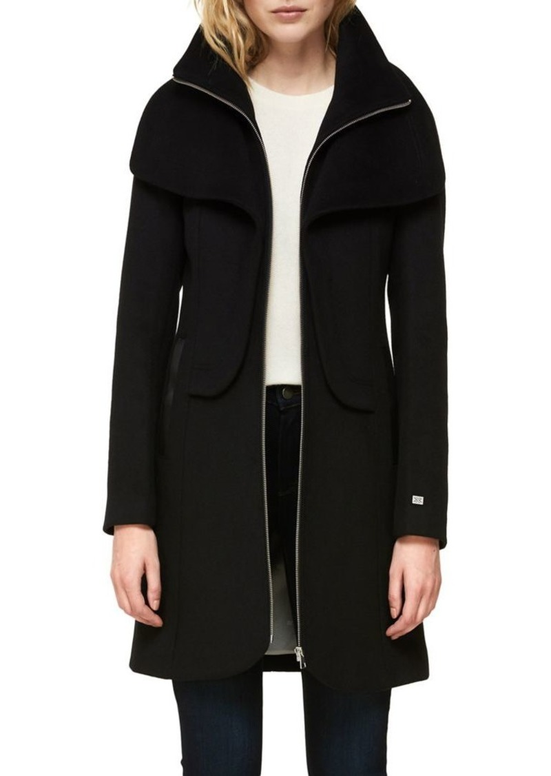 Soia & Kyo Flavie Straight-Fit Walker Coat
