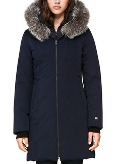 Soia & Kyo Jayda Fur Trim Down Parka - 100% Exclusive
