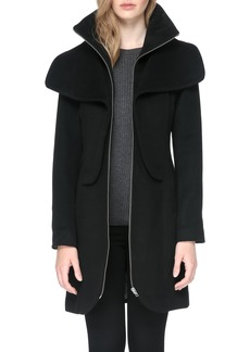 Soia & Kyo Hooded Trench