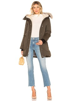 Soia & Kyo Saundra Jacket With Fur Trim