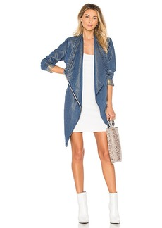 Soia & Kyo Stefie Draped Jacket