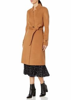 Soia & Kyo Women's ADALICIA Ladies Long Wool Coat Belt  XL