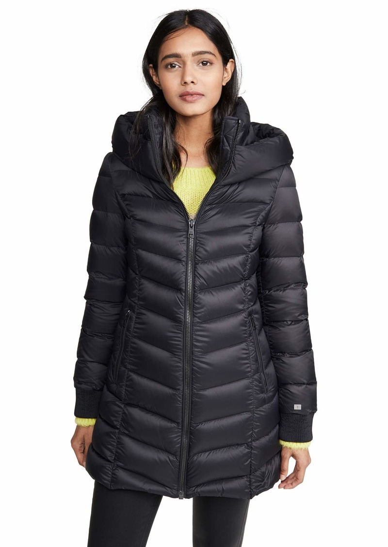 Soia & Kyo Women's Alanis-N Ladies Hooded Down Coat  M