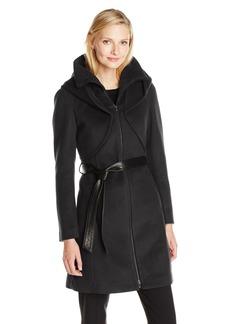 Soia & Kyo Women's Arya Belted Wrap Wool Coat
