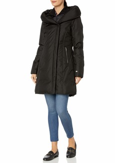 Soia & Kyo Women's Camelia-N Ladies Hooded Down Coat  M