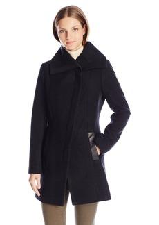 Soia & Kyo Women's Jana Diagonal Wool Coat