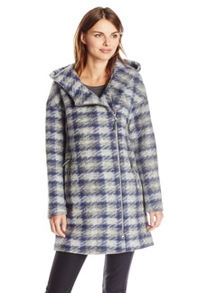 Soia & Kyo Women's Kym Houndstooth Wool Coat