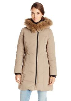 Soia & Kyo Women's Salma Down Coat with Fur Trim