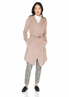 Soia & Kyo Women's Samia Double face Wool Coat  M
