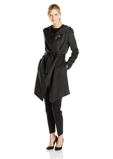 Soia & Kyo Women's Samia Wool Wrap Coat