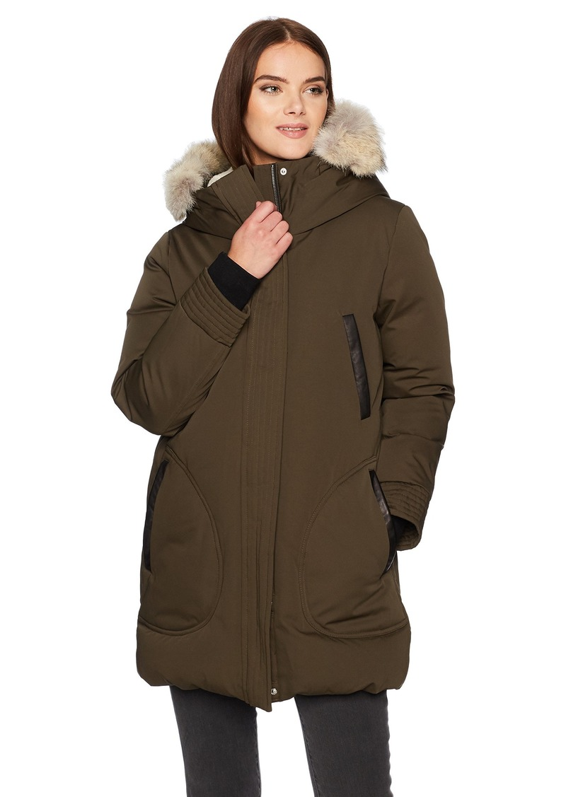 Soia & Kyo Women's Saundra-c Down Coat  M
