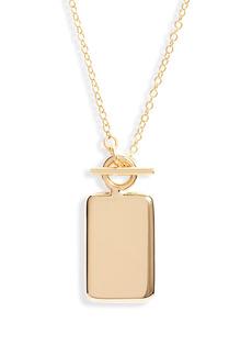 Women's Soko Rectangle Medallion Necklace