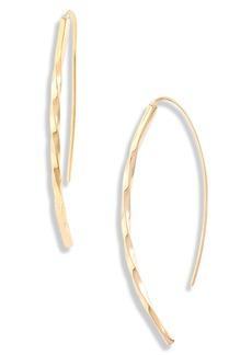 Women's Soko Twist Bow Threader Earrings