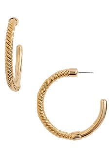 Women's Soko Uzi Twist Hoop Earrings