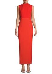 Solace London Ariana Rib-Knit Sheath Dress