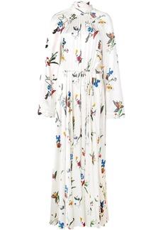 Solace London botanical print maxi dress