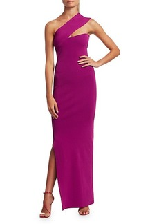 Solace London Lavena One-Shoulder Maxi Dress
