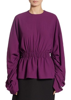 Solace London Macy Gathered Top