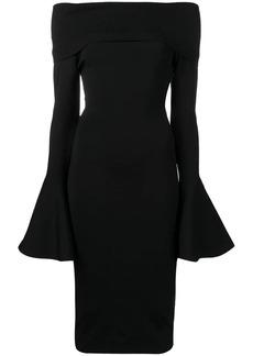 Solace London Mori midi dress
