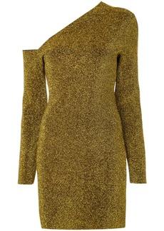 Solace London one shoulder dress