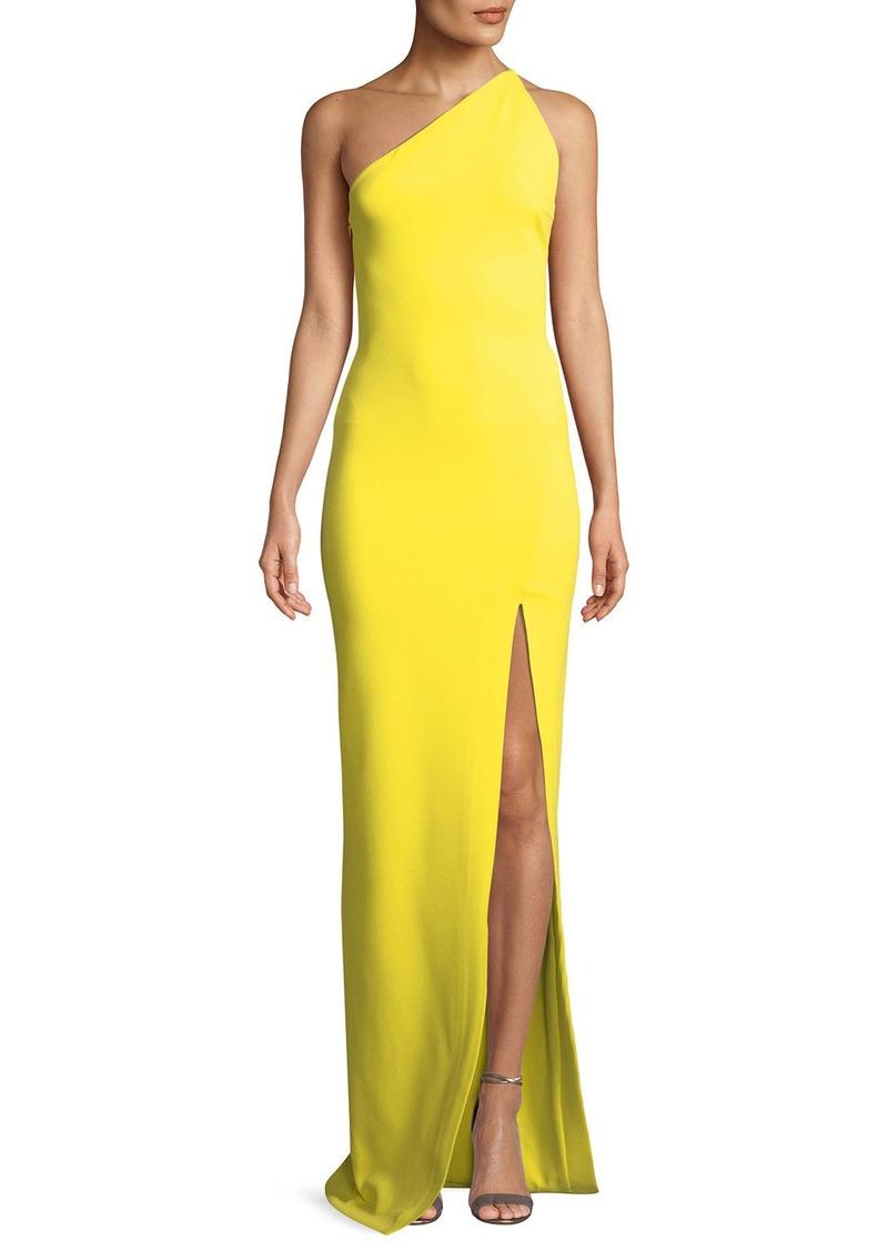 41f1475125e Solace London Petch One-Shoulder Split Maxi Dress