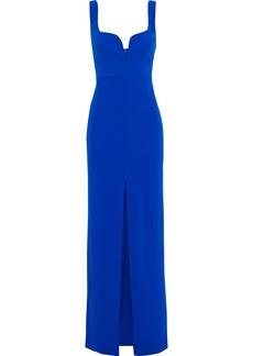 Solace London Woman Crepe Maxi Dress Cobalt Blue