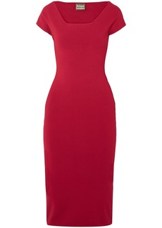 Solace London Woman The Ceirra Cady Dress Claret