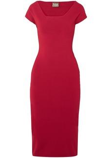 Solace London Woman The Ceirra Cady Dress Claret