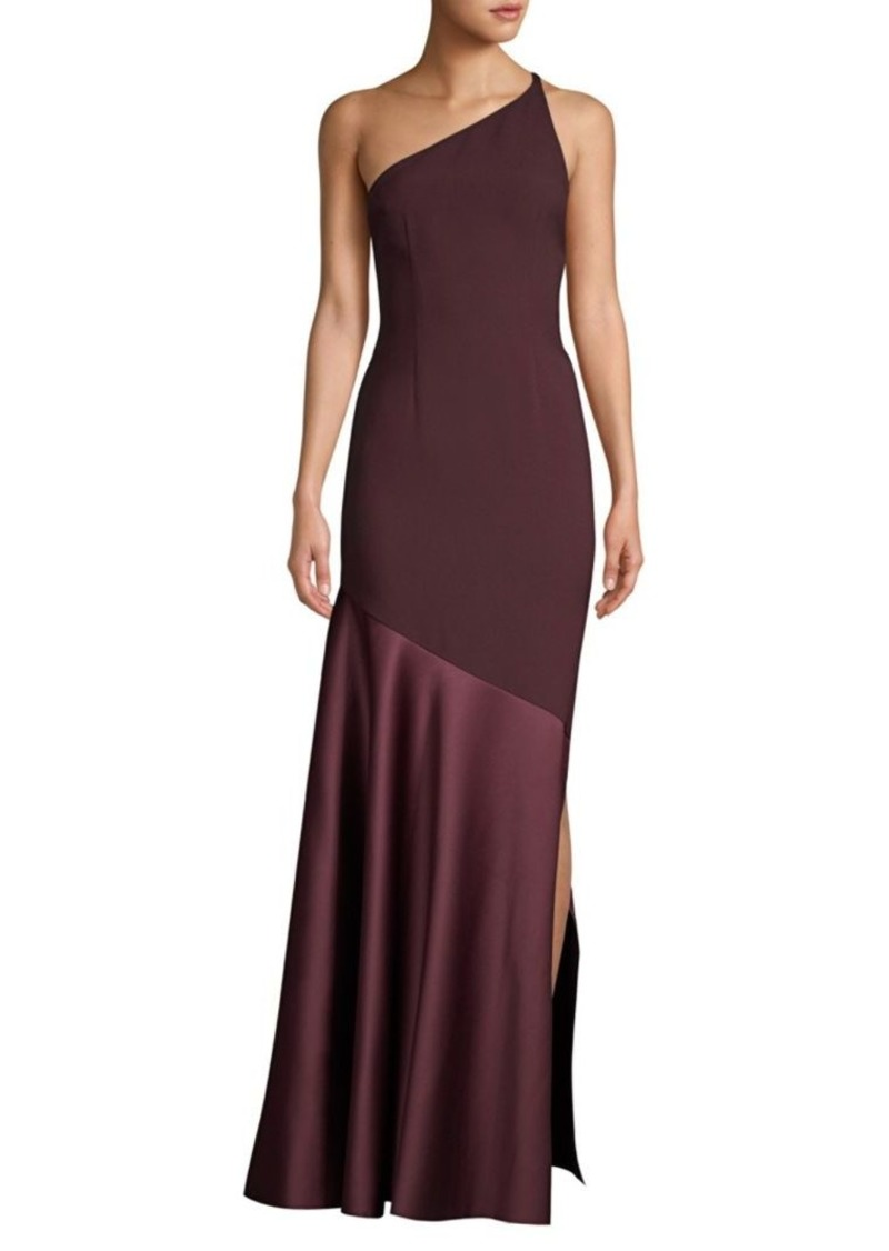 Solace London Volta One-Shoulder Maxi Dress