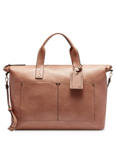 Sole Society Noemi Faux Leather Duffle Bag