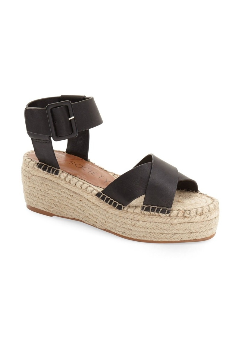 Sole Society Sole Society Audrina Platform Espadrille