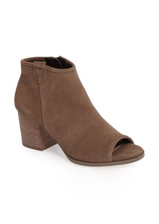 Sole Society Bambi Peep Toe Bootie (Women)