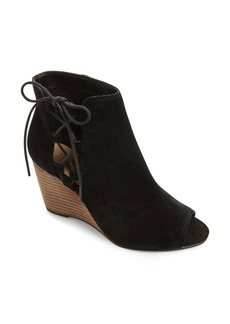 Sole Society Bobbi Cutout Wedge Bootie (Women)