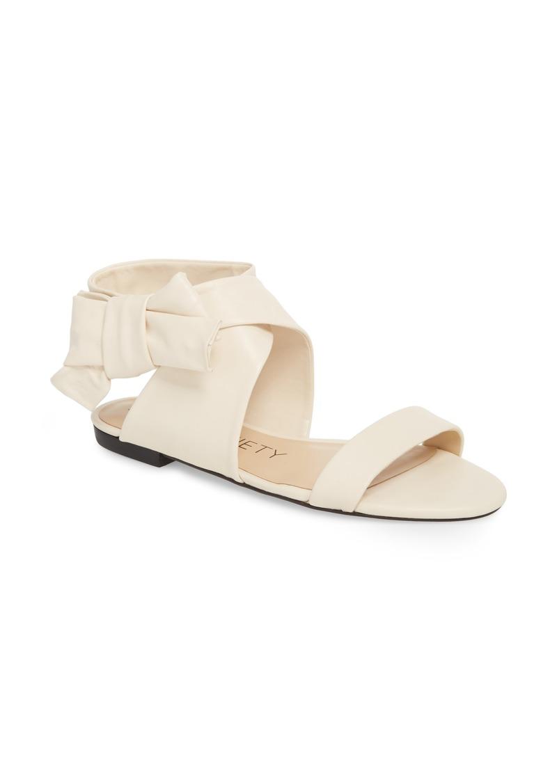 48486a62c48dd Sole Society Sole Society Calynda Bow Ankle Wrap Sandal (Women)