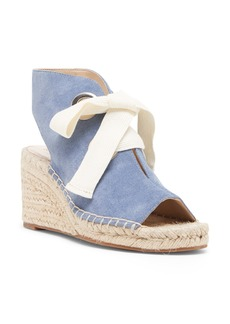 Sole Society Cambrine Lace-Up Wedge Espadrille Sandal (Women)
