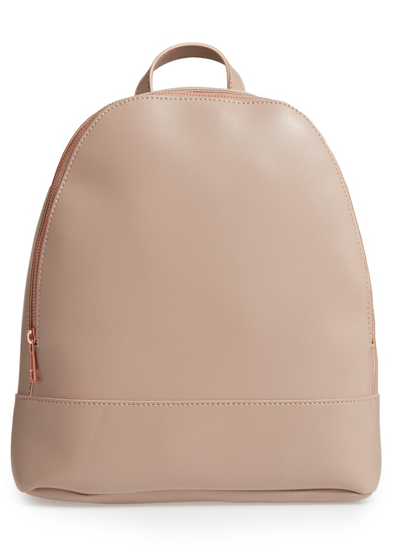 757441eda2 SALE! Sole Society Sole Society Chester Faux Leather Backpack