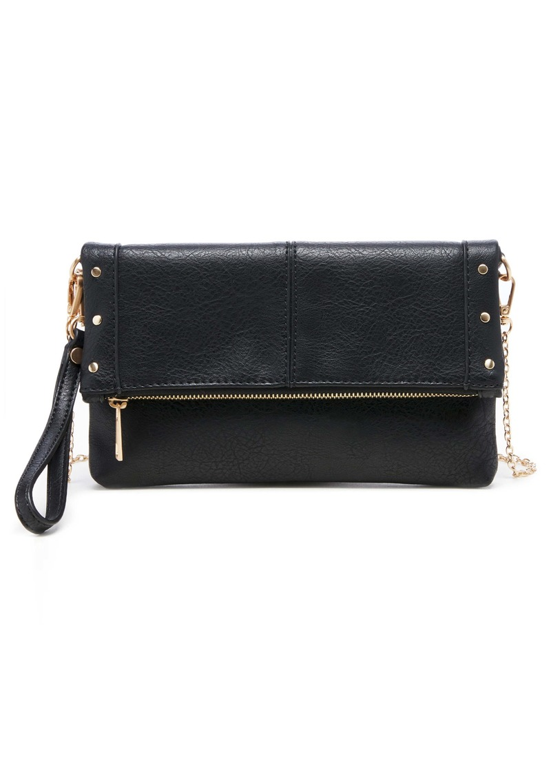 Sole Society Claudia Faux Leather Clutch