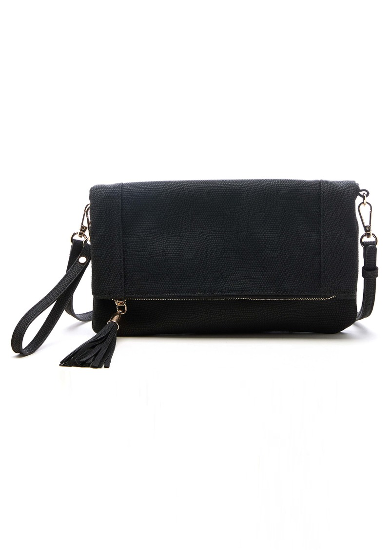 Sole Society Convertible Faux Leather Clutch