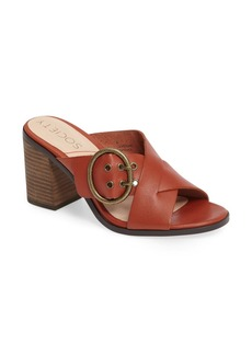 Sole Society Corrine Buckle Sandal (Women)