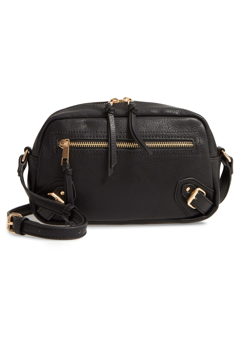 Sole Society Dael Faux Leather Crossbody Bag