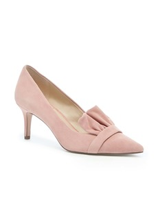 Sole Society Darbia Ruffle Pointy Toe Pump (Women)