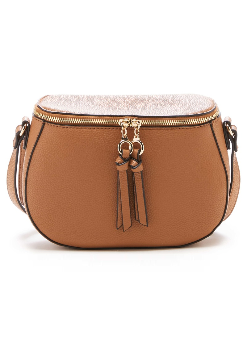 Sole Society Deana Faux Leather Crossbody Bag