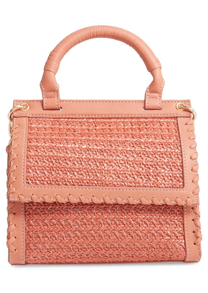 Sole Society Deona Woven Crossbody Bag