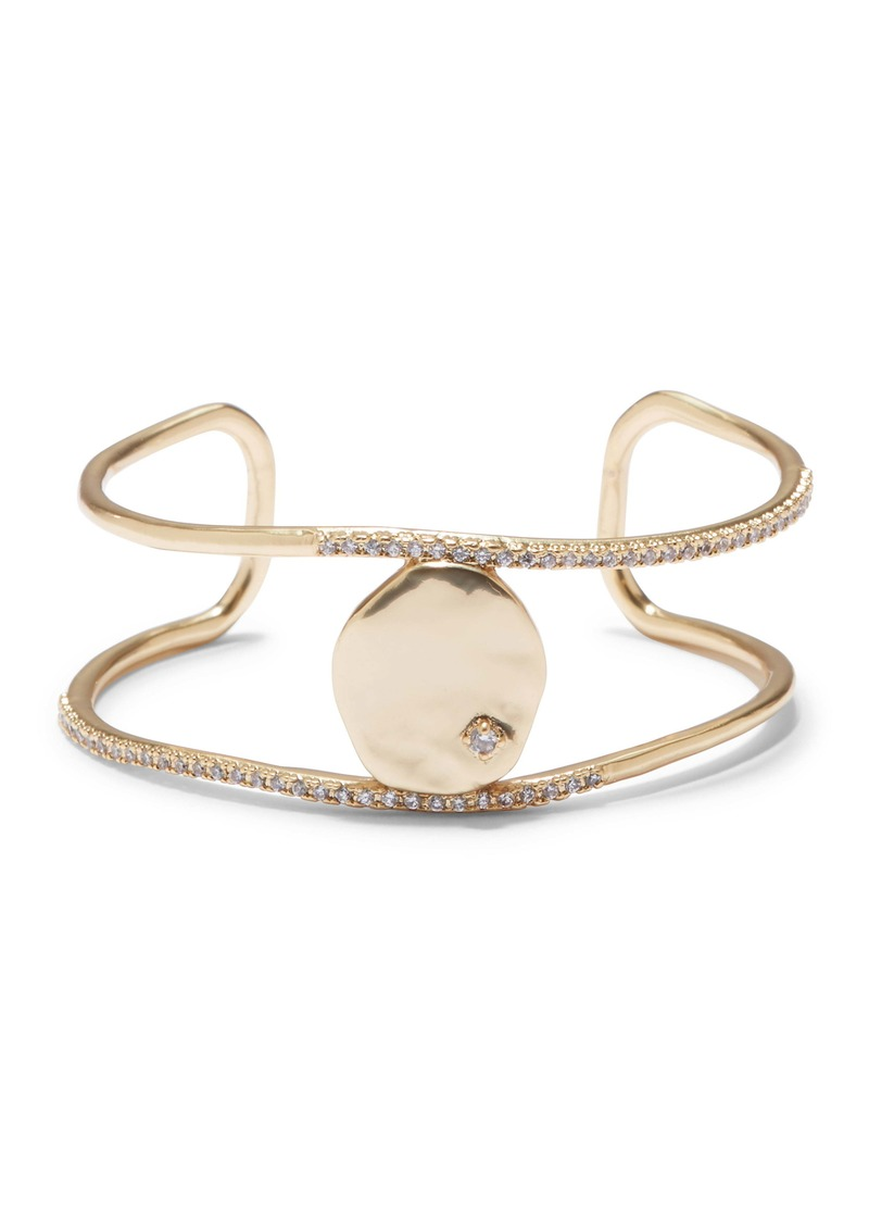 Sole Society Disc Cuff Bracelet